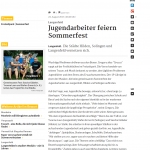 RP - Online Langenfeld Jugendarbeiter feiern Sommerfest